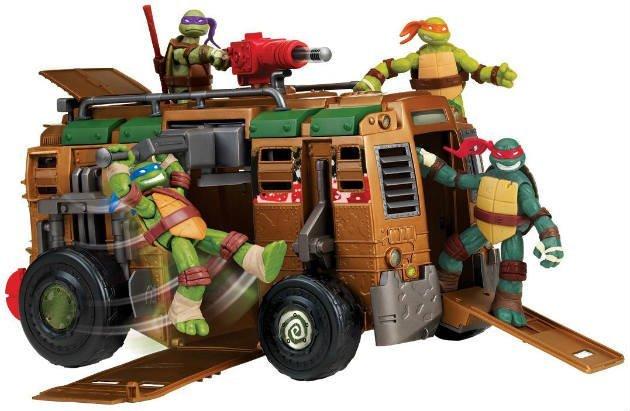 best teenage mutant ninja turtles toys car for kids Christmas 2016