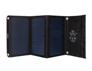 Aukey 21W Dual USB Solar Charger for smartphone