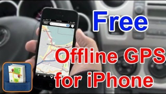Best offline GPS navigation app for iPhone FREE Download