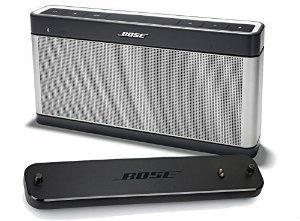 Bose SoundLink III Portable Bluetooth Speaker and Charging Cradle