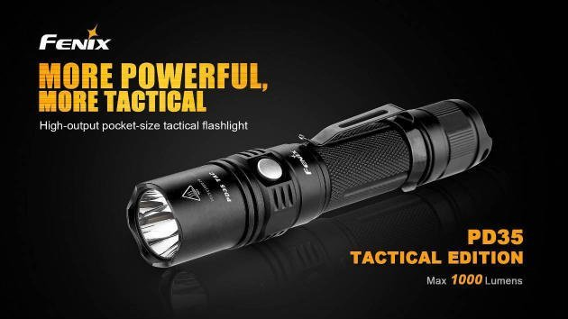 Fenix PD35 TAC 1000 Lumen review