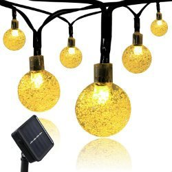 best solar lights for Christmas tree and home decorations