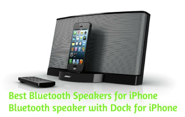 best speakers for iphone 7 bluetooth speakers with docks for iphone. Black Bedroom Furniture Sets. Home Design Ideas