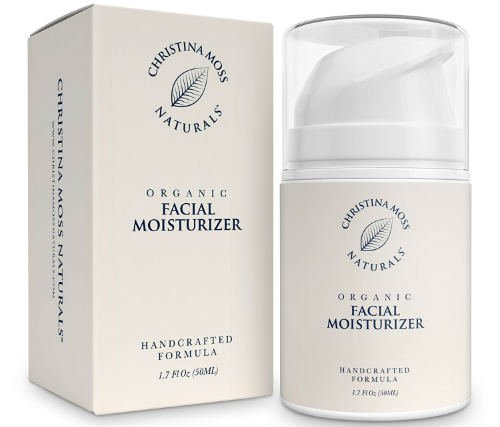 Facial Moisturizer Organic and 100 Natural Face Moisturizing Cream for Sensitive Oily or Severely Dry Skin