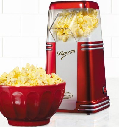 Nostalgia 8 Cup Hot Air Popcorn Maker