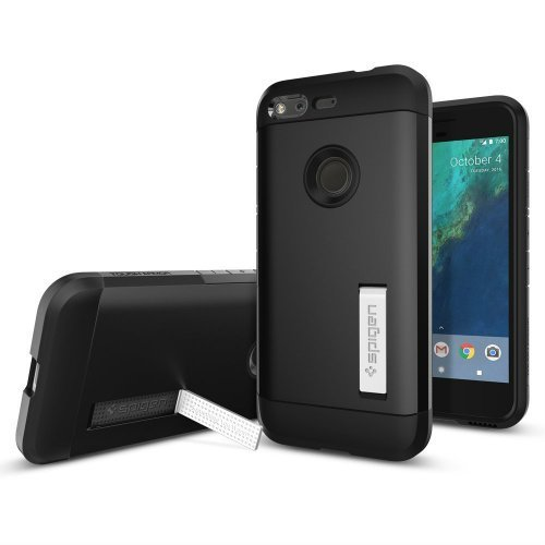 Spigen Tough Armor Google Pixel Case with Kickstand