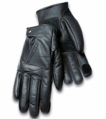 BMW Urban Black Leather Gloves