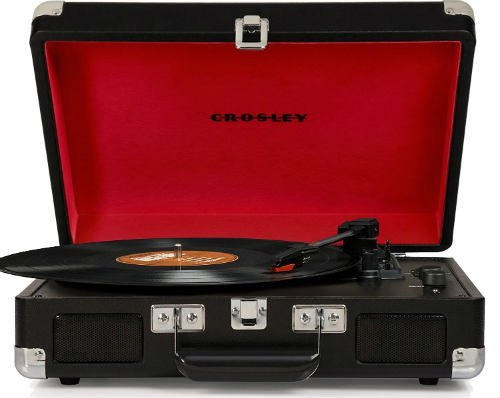 Cruiser Deluxe Portable 3 Speed Turntable with Bluetooth