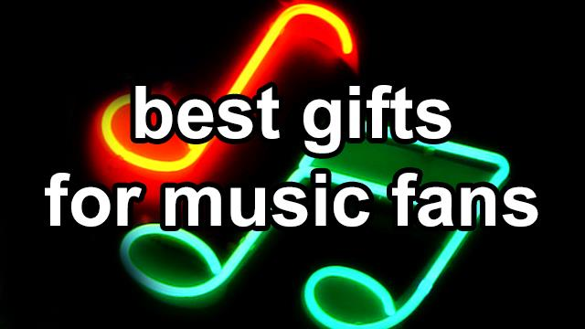 best Christmas gifts for music lovers