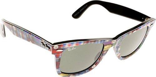 Ray Ban RB2140 Wayfarer Floral Sunglasses