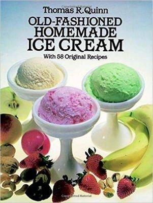 recipe books for ice cream maker machine