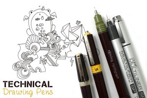 Best Technical Pens Reusable Technical Drawing Pens