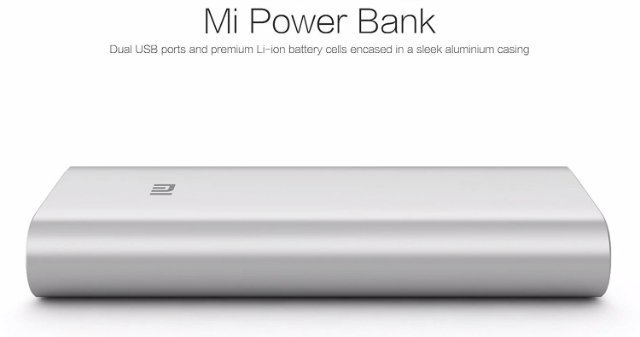Xiaomi Power Bank 16000mAh Dual USB Port External Battery Charger Pack Portable Charger for iPhone