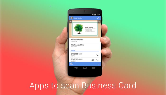 Best business card scanner app for Android