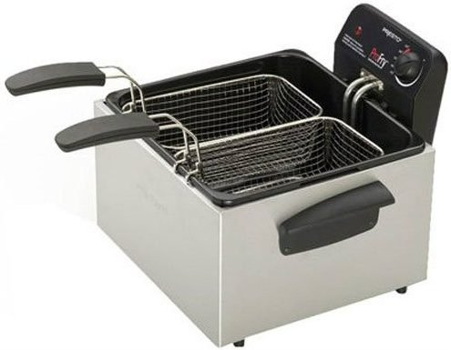 Presto Dual Basket Pro Fry Immersion Element Deep Fryer