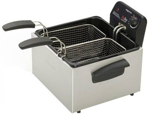 Presto Dual Basket Pro Fry Immersion Element Deep Fryer