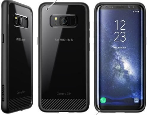 Best covers for Samsung Galaxy S8 Plus Android smartphone