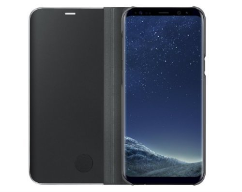 Samsung Galaxy S8 S View Flip Cover with Kickstand