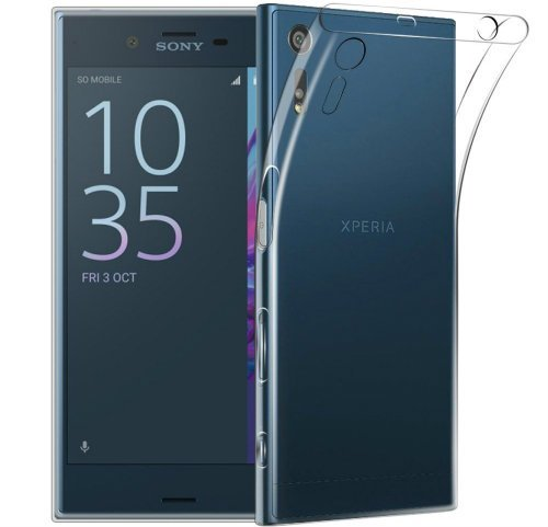 Transparent TPU Protective Cover Sony Xperia XZs