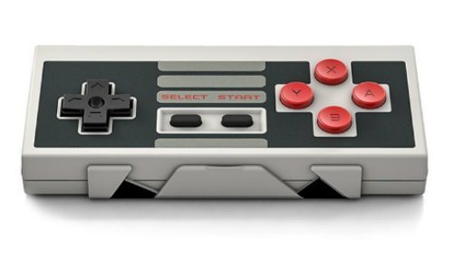 8Bitdo NES30 Classic Edition Wireless Controller Set with Bluetooth Retro Receiver