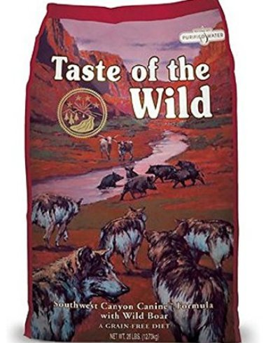 Best dog food brand Taste of the Wild Canine Formula
