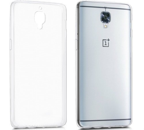 COVER FOR ONEPLUS 3T TRANSPARENT KWMOBILE