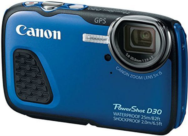 Canon PowerShot D30 12 1MP Waterproof Digital Camera