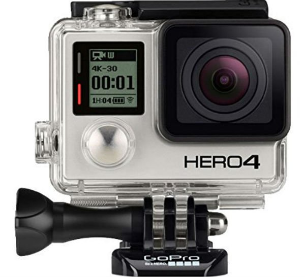 GoPro HERO4 BLACK best video cameras for filming sports videos in HD