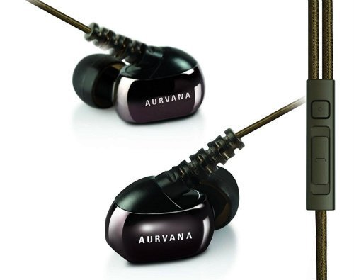 High end Noise isolating In ear Earphones with In line Remote and Microphone