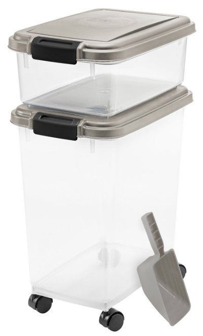 IRIS 3 Piece Airtight Pet Food Container Combo review