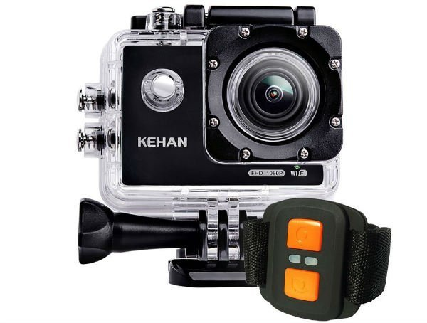 KEHAN C60 Pro Mini WiFi Action Camera with Remote Control