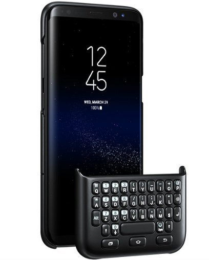 Keyboard cover for galaxy s8 and s8 plus