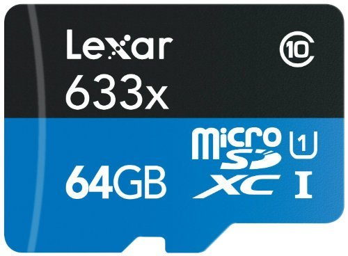 Lexar High Performance microSDXC 633x 64GB UHS I Card review