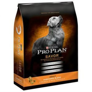 Purina Pro Plan Savor Adult Shredded Blend Chicken Rice Formula Dog Food