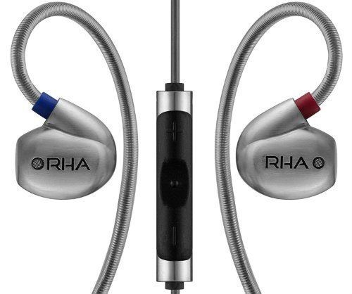 RHA T10i In Ear Headphone with Remote and Microphone