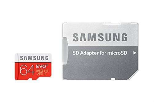 Samsung 64GB EVO Plus Class 10 Micro SDXC with Adapter