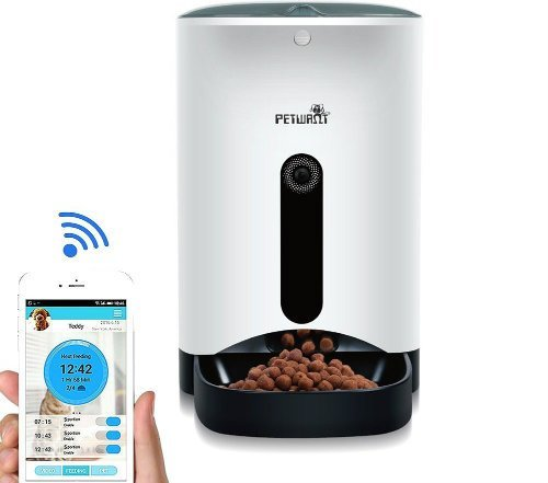 SmartFeeder WOpet Automatic Pet Feeder for Dog or Cat Control by Iphone Andriod or other smart devices