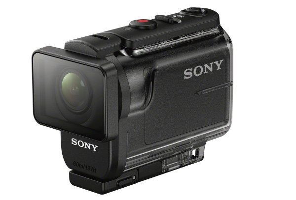 Sony HDR AS50 B Full HD 1080p Action Cam with 32GB MicroSD Card Battery Pack Bundle