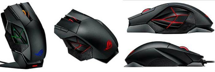 ASUS ROG Spatha RGB Wireless Laser Gaming Mouse
