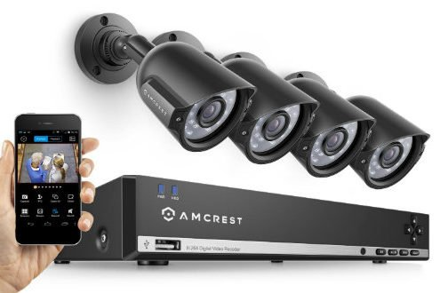 Amcrest 960H 8CH outdoor home Security System