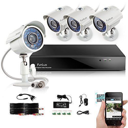 Best outdoor wireless security camera system with DVR cctv