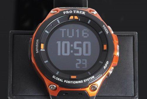 CASIO Smart Watch WSD F20 Protrek Smart review