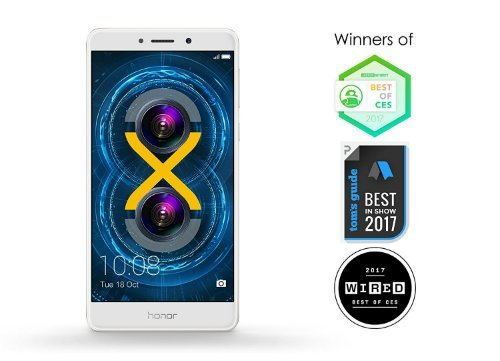Honor 6X best smartphone with Android OS 2017