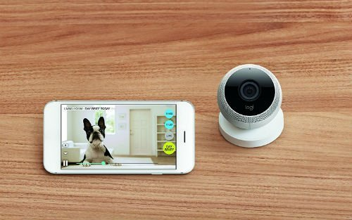 Logitech Circle Wireless Security Camera with Person Detection Motion Zones Custom Alerts