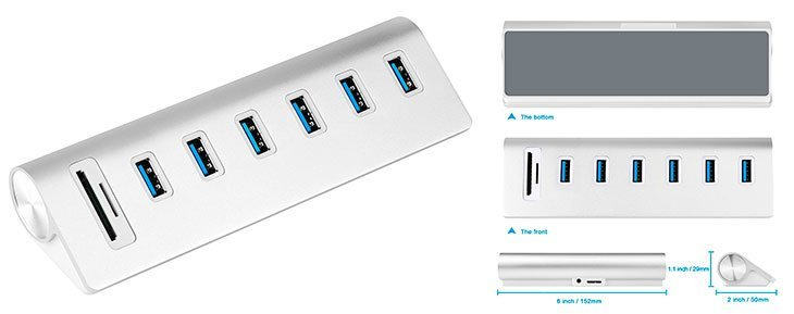Top 10 Best USB 3.0 Hub for Mac and PC