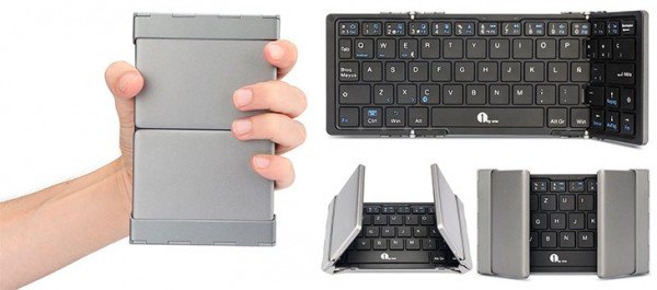 Wireless and foldable keyboard for Mac and PC 1byone