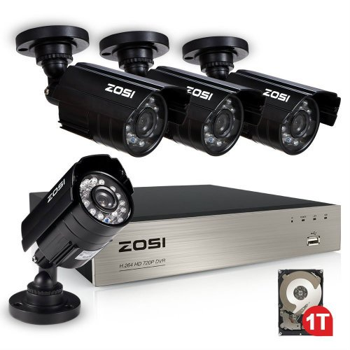 ZOSI 8CH Security Camera System review