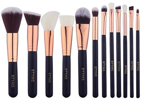 Makeup Brushes Set Foundation Blending Blush Concealer Eye Face Lip Brushes for Powder Liquid Cream Complete Makeup Brushes Kit