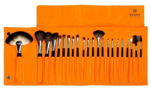 SHANY NY Collection 22PC Pro Brush Set with Orange Case