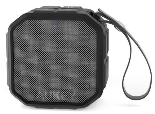 AUKEY Bluetooth Speaker with Enhanced Bass and Built in Mic